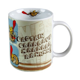 Captain Caveman Mug.
