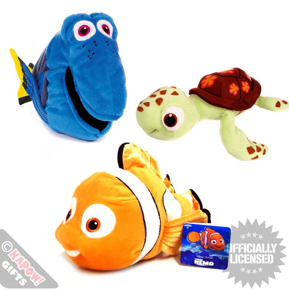 Finding Nemo Characters Soft Plush Toys Large Disney Cuddly Girls Boys Kids